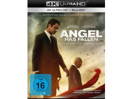 Angel Has Fallen 4K Ultra HD Blu ray 2D