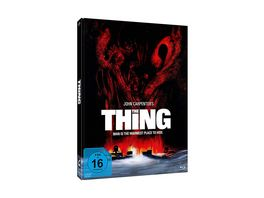 John Carpenter s THE THING 3 Disc Mediabook Edition Edwards DVD Bonus Blu ray