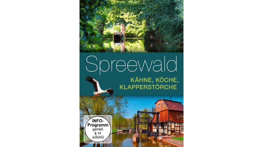 Spreewald Kaehne Koeche Klapperstoerche
