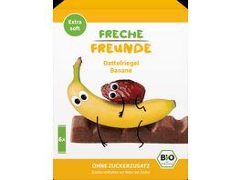 Freche Freunde Bio Dattelriegel Banane 6x17g