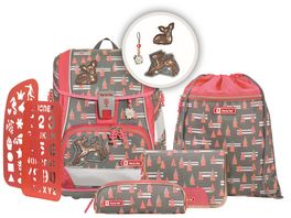 Step by Step 2IN1 PLUS Space Schulranzen Set 6teilig Modern Deer