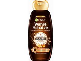 GARNIER Wahre Schaetze Revitalisierendes Shampoo Bio Ingwer Akazienhonig