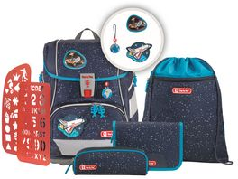 Step by Step 2IN1 PLUS Space Schulranzen Set 6teilig Sky Rocket