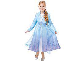 Rubies 3300506 Kostuem Elsa Frozen 2 Deluxe Child