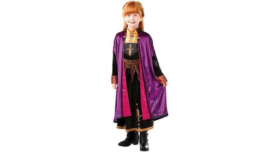 Rubies 3300507 Kostuem Anna Frozen 2 Deluxe Child