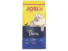 JosiCat Crispy Duck Trockenfutter fuer ausgewachsene Katzen
