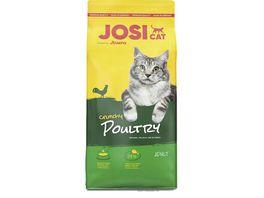 JosiCat Crunchy Poultry Trockenfutter fuer ausgewachsene Katzen