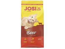 JosiCat Tasty Beef Trockenfutter fuer ausgewachsene Katzen