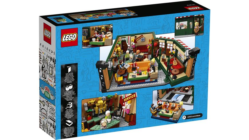 LEGO Ideas 21319 FRIENDS Central Perk Cafe