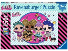Ravensburger Puzzle L O L Surprise Maedelsabend 150 XXL Teile