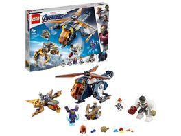 LEGO Marvel Super Heroes 76144 Avengers Hulk Helikopter Rettung