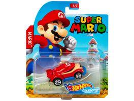 Super Mario HotWheels Mario