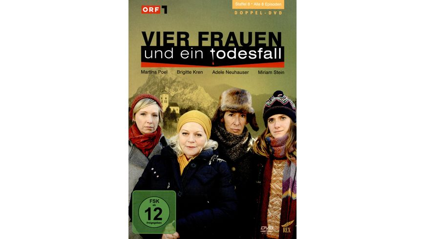 Vier Frauen und ein Todesfall - Staffel 8  [2 DVDs]