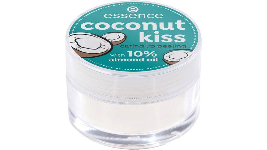 essence coconut kiss caring lip peeling