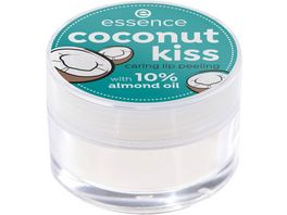essence coconut kiss caring lip peeling