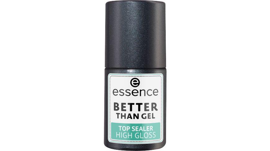 essence better than gel top sealer high gloss