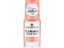 essence caring nail oil nails cuticles daily treatment