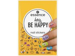 essence hey BE HAPPY nail stickers
