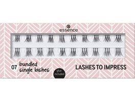 essence LASHES TO IMPRESS 07 bundled single lashes