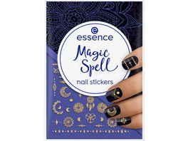 essence Magic Spell nail stickers