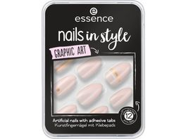 essence nails in style 09 Graphic Art