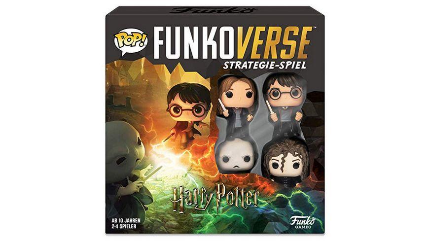 Funko POP Funkoverse Harry Potter 100 4 Pack Strategie Spiel 4er
