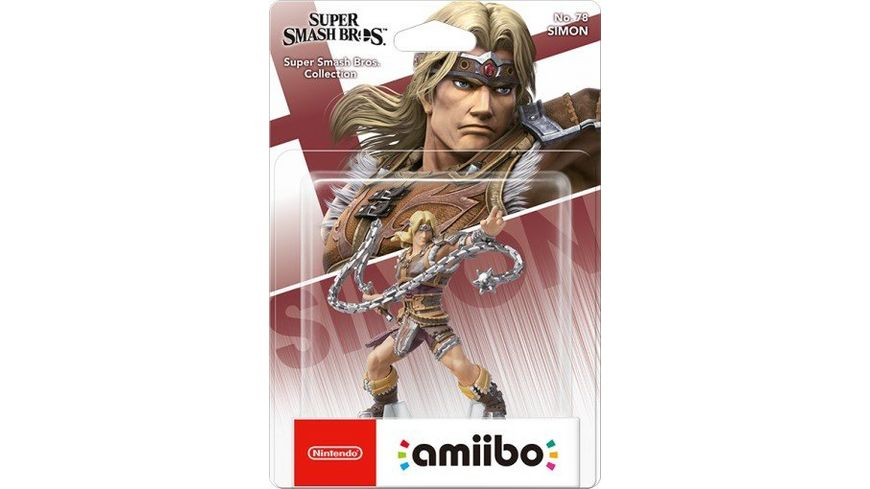 amiibo Figur Super Smash Bros Collection Simon