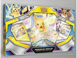 Pokemon Sammelkartenspiel Spezial Kollektion Pikachu GX Evoli GX