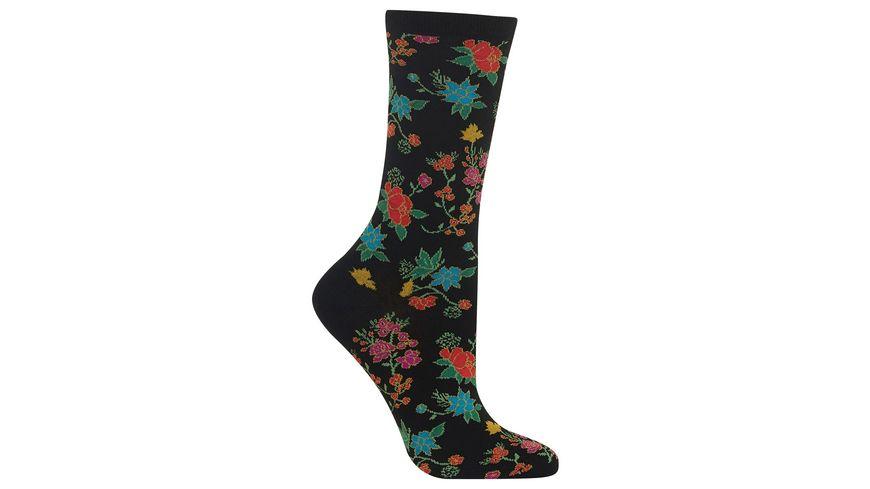 HOTSOX Damen Socke Asian Floral