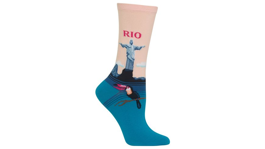 HOTSOX Damen Socke Rio