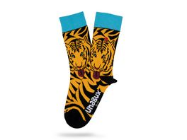 Unabux Unisex Socken Tiger