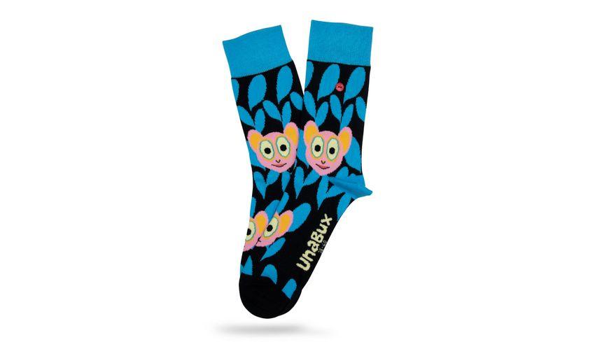 Unabux Socke Koboldmakis Unisex