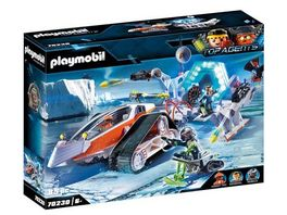 PLAYMOBIL 70230 Top Agents Spy Team Kommandoschlitten