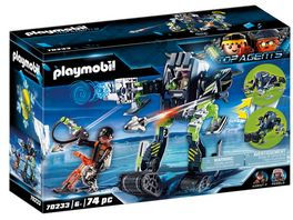 PLAYMOBIL 70233 Top Agents Arctic Rebels Eisroboter