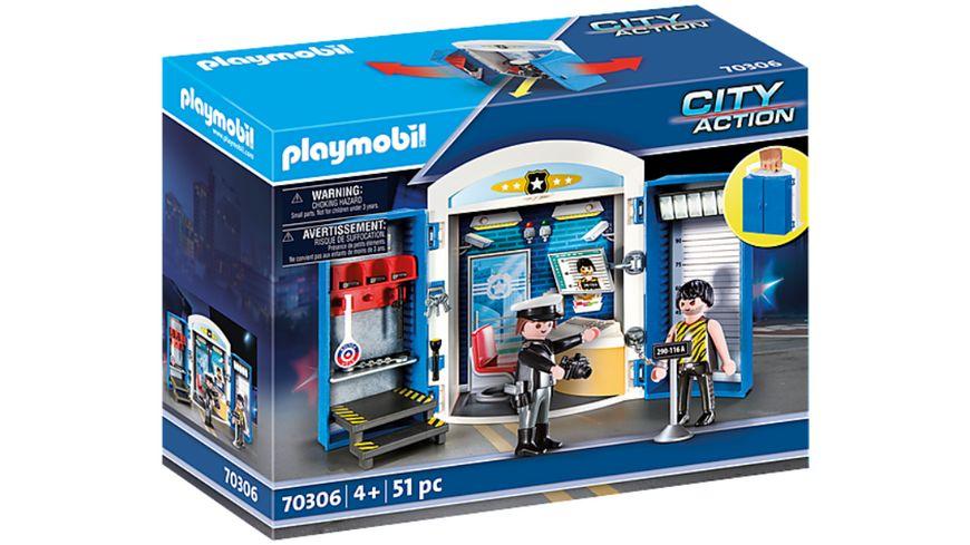 PLAYMOBIL 70306 City Action Spielbox In der Polizeistation