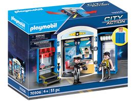 PLAYMOBIL 70306 City Action Spielbox In der Polizeistation
