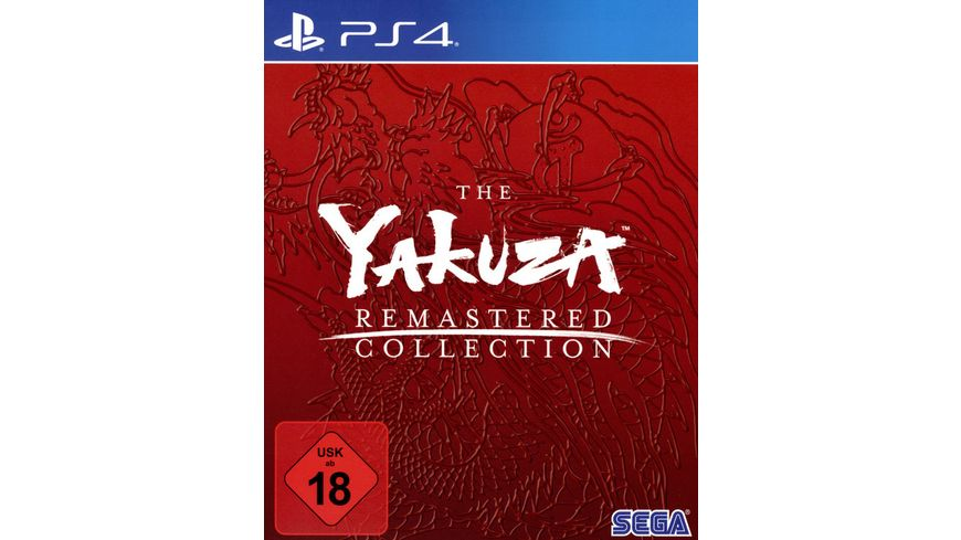 The Yakuza Remastered Collection Day One Editon