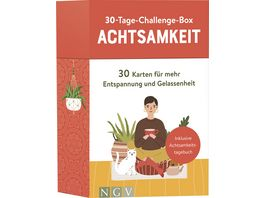 30 Tage Challenge Box Achtsamkeit
