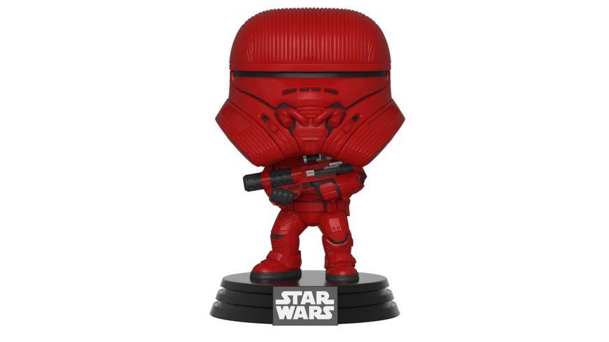 Funko POP Star Wars The Rise Of Skywalker Sith Jet Trooper Bobble Head Figur