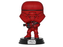 Funko POP Star Wars The Rise Of Skywalker Sith Jet Trooper Bobble Head Figur