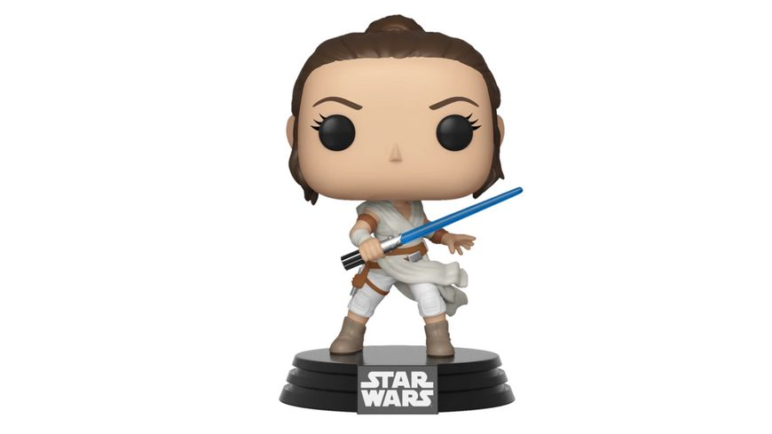 Funko POP Star Wars The Rise Of Skywalker Rey Bobble Head Figur
