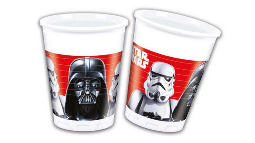 Procos Star Wars Final Battle Party Becher Plastik 8 Stueck