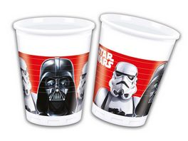 Procos Star Wars Final Battle Party Becher Plastik 8 Stueck
