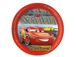 Procos Cars 3 Party Teller 23cm 6 Stueck