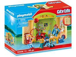 PLAYMOBIL 70308 City Life Spielbox Im Kindergarten