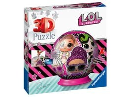 Ravensburger Puzzle 3D Puzzle Ball LOL Surprise