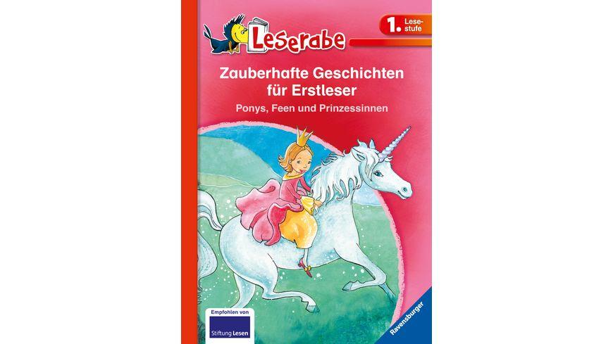 HC - Leserabe - Sonderausgabe Zauberhafte Geschichten für Erstleser. Ponys, Feen und Prinzessinnen