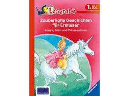 HC Leserabe Sonderausgabe Zauberhafte Geschichten fuer Erstleser Ponys Feen und Prinzessinnen