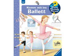 Wieso Weshalb Warum 54 Komm mit ins Ballett