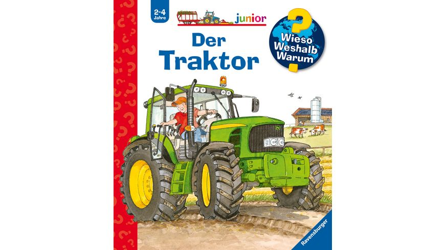 Wieso Weshalb Warum junior 34 Der Traktor